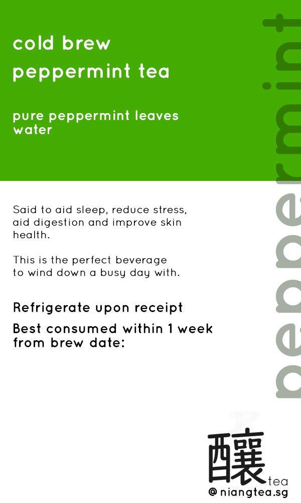 Peppermint Tea | niangtea.sg