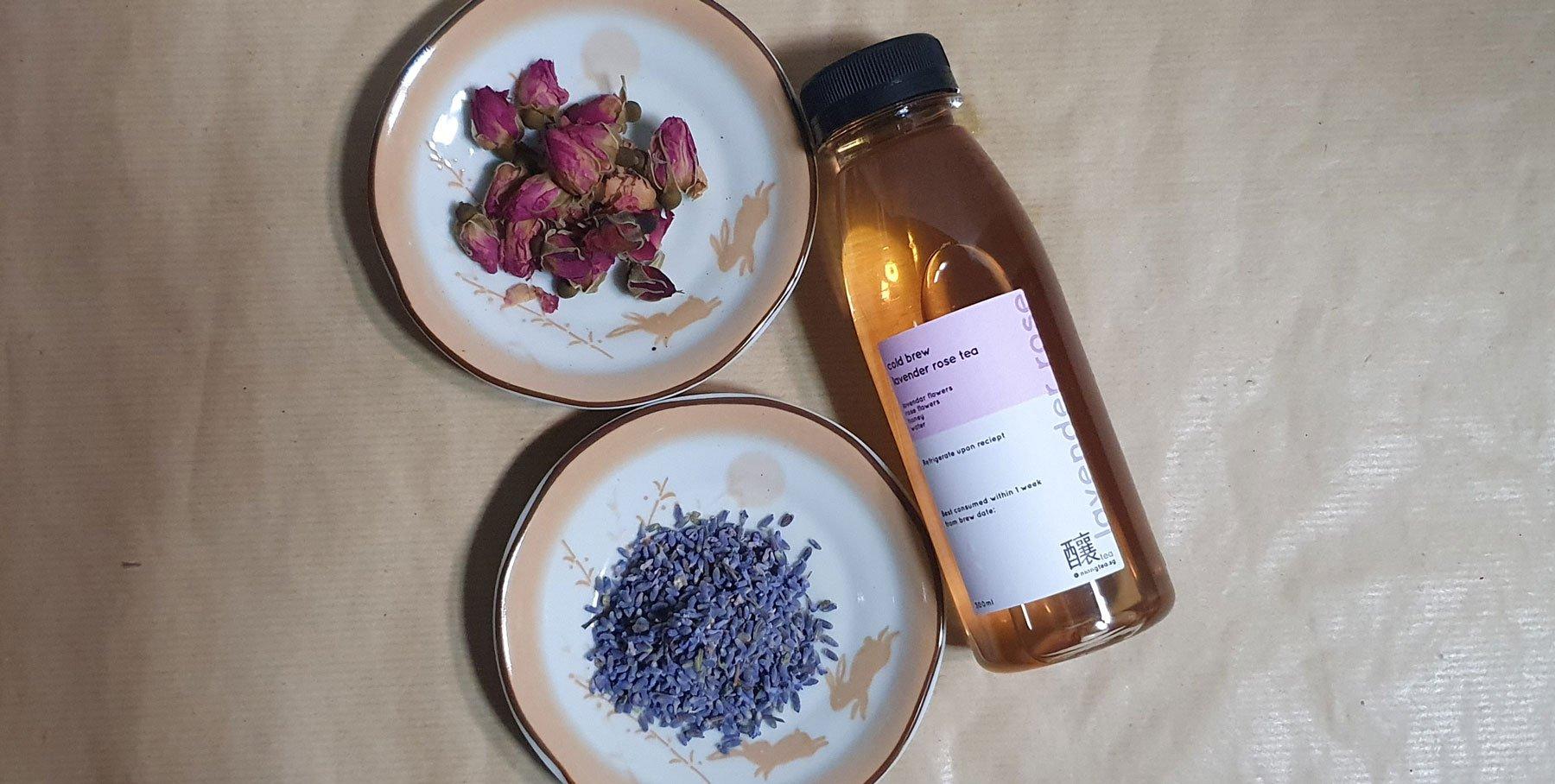 Lavender Rose Tea
