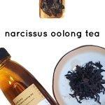 cold brew narcissus oolong tea