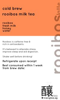 Rooibos-Latte