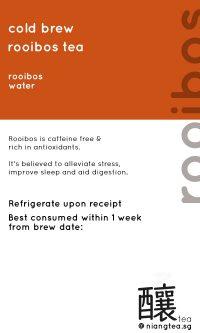 Rooibos Tea | niangtea.sg