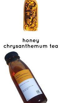 honey chrysanthemum tea | niangtea.sg